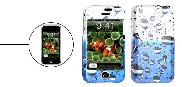 New Ocean Plastic Hard Case Cover for Apple iPhone 1st Generation