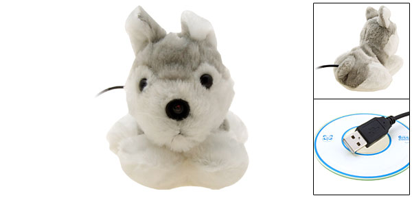 Cute Fur  Rabbit USB PC Video Webcam Camera