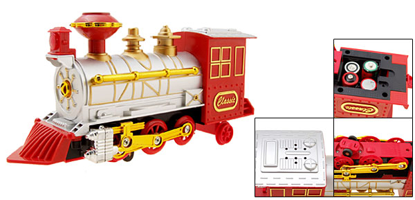 Fashion Classic Electronical Train Locomotive Toy