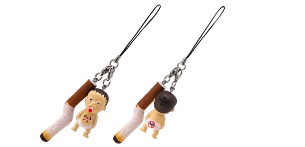 Cigarette Butt Smoking No Smoking Mobile Phone Strap String