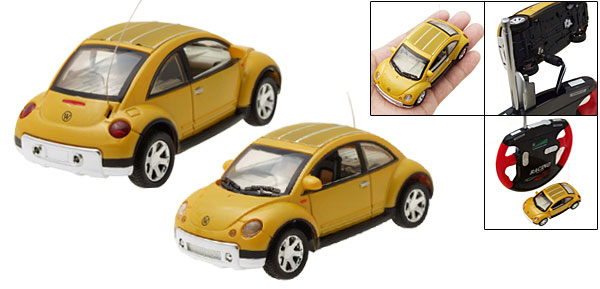 RC Remote Control Racing Car Toys  Yellow