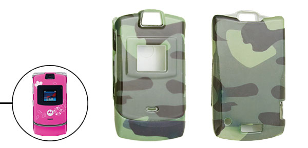 Stylish Camouflage Protector Hard Cover Case for Motorola V3