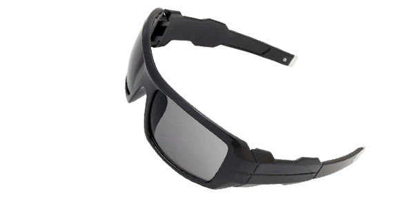 Large Black Eye Wear Sport Men's Motorcycle Sunglasses