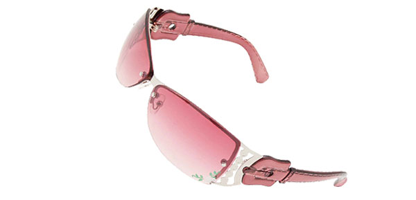 Stylish Flower Metal Frame Sport Girls Womans Sunglasses
