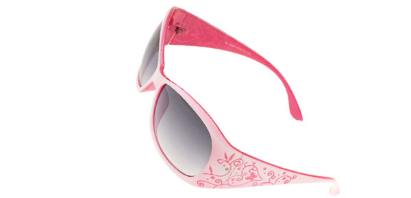 Peachblow Plastic Frame Lady Outdoors Women Sunglasses