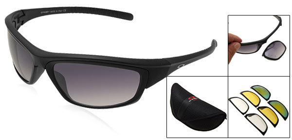 Driving Surfing Sports Sunglasses w/Multi Changeable Lens