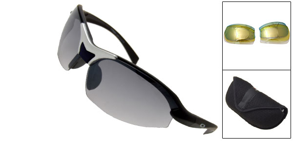 Cool X-loop Black Surfing Night Vision Sports Sunglasses