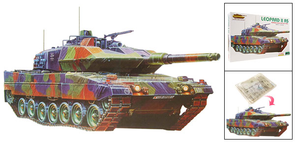 German Leopard Main Battle Tank Model Toy for DIY Lover