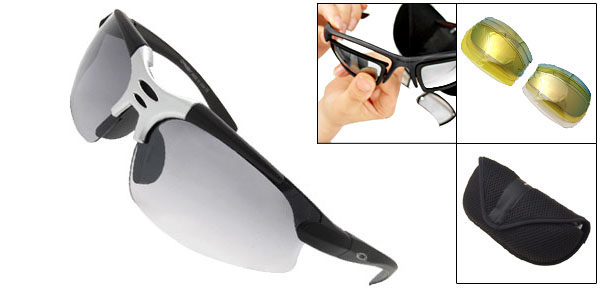 Surfing Polarized Night Vision Sports Cool X-loop Sunglasses