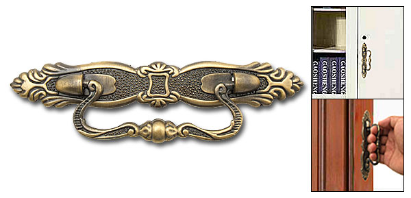 Decorative Middle Age Bronze Cabinet Drawer Cupboard Door Handle