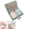 Mini Portable Chinese Mahjong Mah Jong Tiles Set