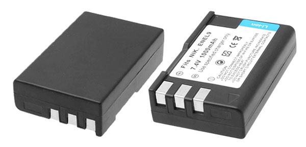 New Digital Camera Battery for Nikon D40 D40x D60 (EN-EL9 ENEL9)
