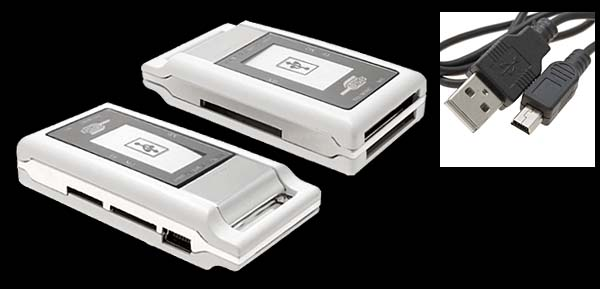 Mini All in 1 USB 2.0 SD XD Memory Card Reader