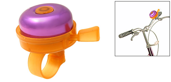 Mini Purple Classic Bike Bicycle Bell