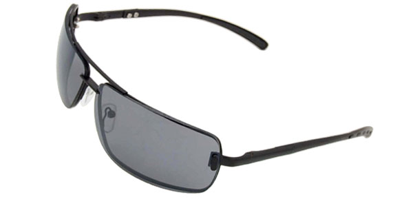 Black Metal Frame Men Eyeglasses Golf Sunglasses