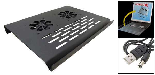 Motor Driven Cool Fan Notebook Laptop Cooler Pad