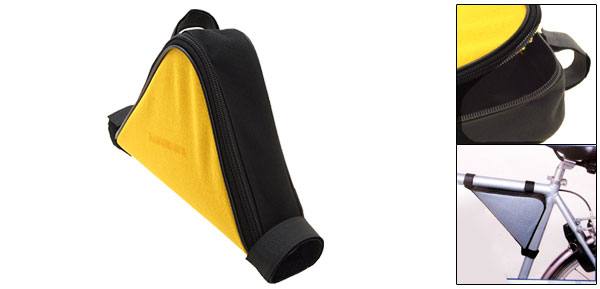 Yellow Mountain Cycling Bike Bicycle Triangle Pump Frame Saddle Bag