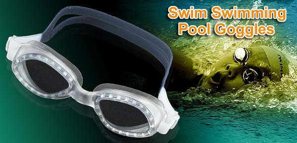 Professional Silicone Swim Swimming Pool Goggles Gray