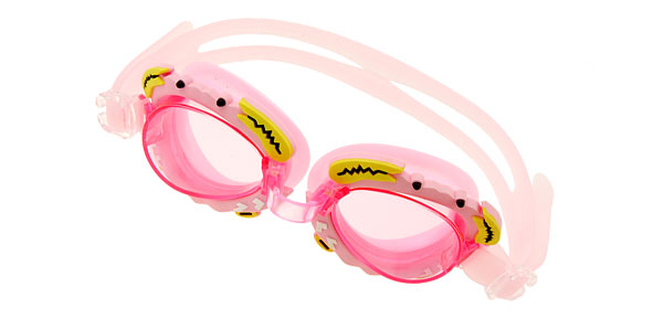 Cute Crab Kids Children Swim Swimming Pool Goggles Pink