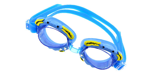Crab Children Kids Swimming Pool Swim Goggles Blue