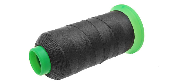 Polyester Denim Sewing Thread Tailoring Line Black 300m