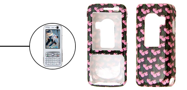 Stylish Fruit Plastic Hard Case Cover for Nokia N73