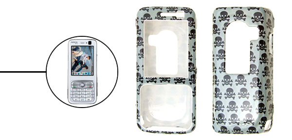 Cool Death's-Head Plastic Hard Case Cover for Nokia N73