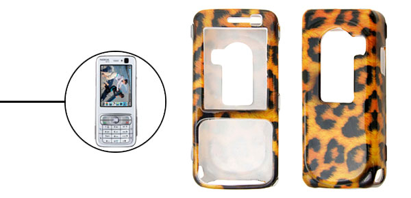 Cool Tiger Stripe Plastic Hard Case Cover for Nokia N73