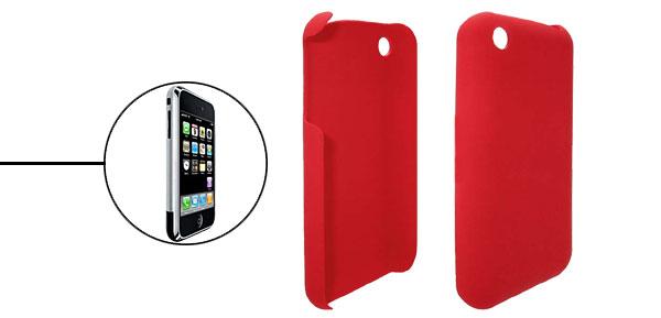 Red Plastic Case Cover for iPhone 1st Generation