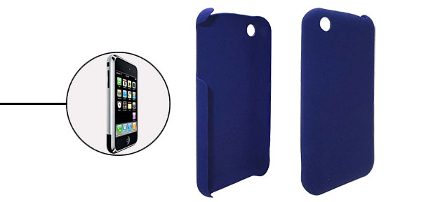 Blue Plastic Crystal Case Cover for iPhone 1st Generation