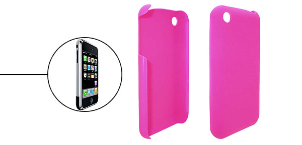 Pink Plastic Case Cover for iPhone 1st Generation
