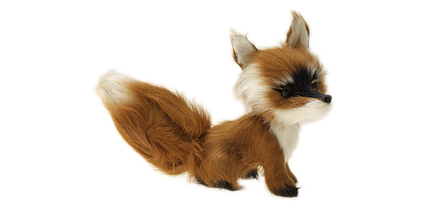 Petite Fox  Decoration Animal Ornament Gift Toy