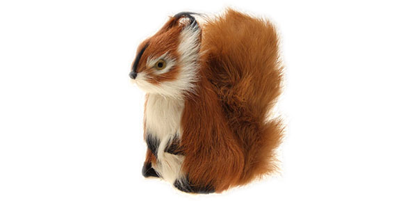 Brown Squirrel for Office Home Decoration Toy Gift