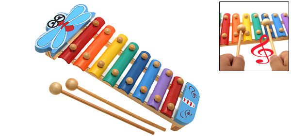 Butterfly Toy Xylophone Children Musical Instrument