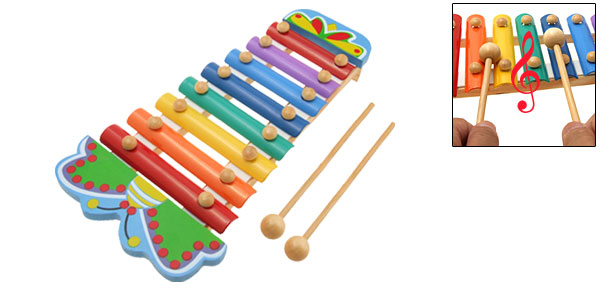 Dragonfly Toy Xylophone Children Musical Instrument