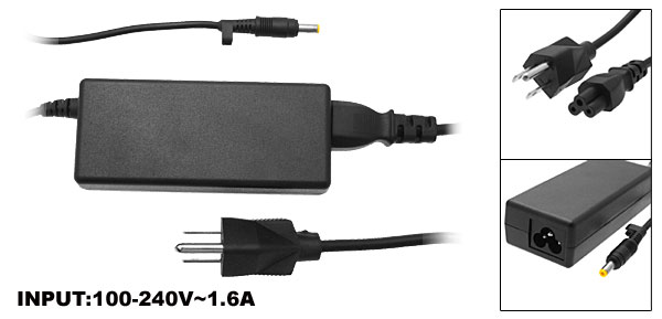 US Plug AC100-240V 18.5V 3.5A Laptop AC Power Adapter PPP009 for Compaq Presario 2800 V5000