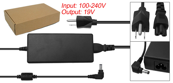 US Plug Power Cord 100-240V Laptop AC Adapter for Compaq Presario 2100 2500 ( PPP014S )