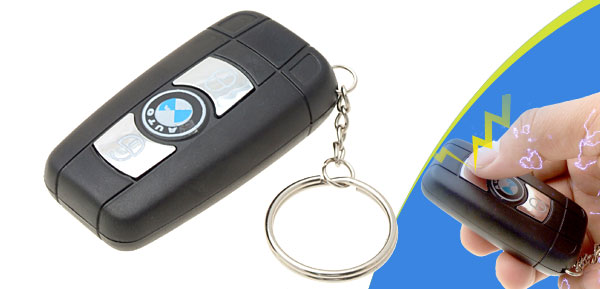 Auto Car Key Shocking Toy Adult Prank Trick Gag Gifts