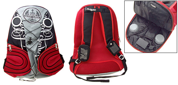Portable Speaker Backpack Knapsack Bag for iPod