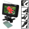 "Digital 5.8"" TFT LCD Mini Color TV with Wide View Angle and Video Input"