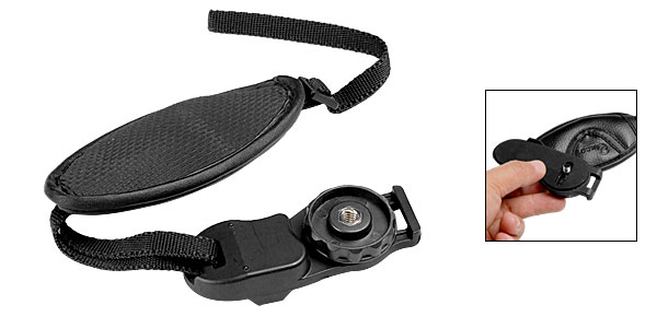 Leather Camera Grip Hand Strap Belt for SLR Cameras