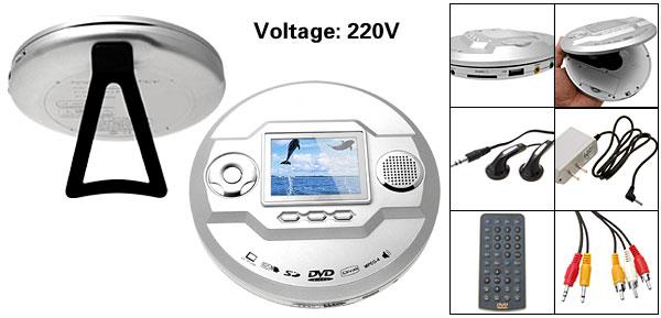 Silver Portable 2.5