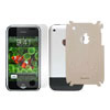 Leather Mat Pad with Screen Protector for Apple iPhone Pearl White