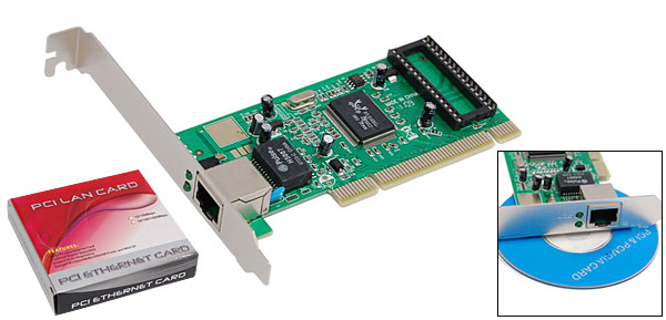 10/100/1000M Ethernet Lan Network PCI Internet Card
