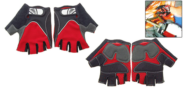 Large Size Sports Driving Fingerless Mountain Bike Gloves