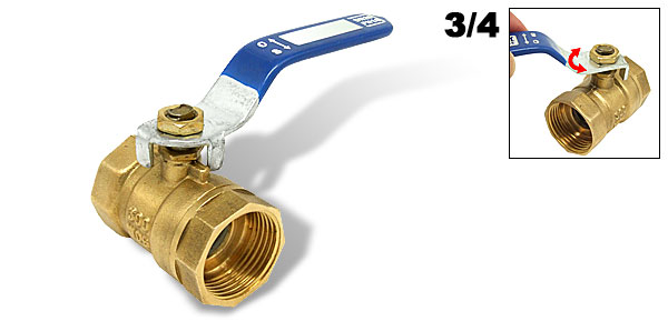 Brass Bronze Ball Valve for 3/4
