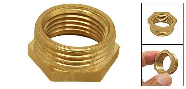 3/4 Brass Hex Reducing Reducer Bushing Pipe Adapter