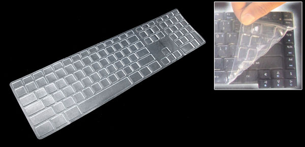 Computer Desktop Keyboard Protector Silicone Skin Cover for Apple iMac