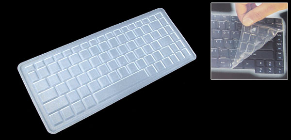 Clear Laptop Keyboard Silicone Skin Cover for Lenovo F40 Y200 (ML-1010)