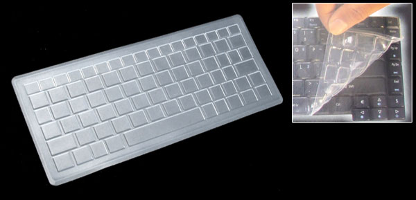 Laptop Notebook Keyboard Silicone Skin Cover for Asus Eee PC 701 (ML-1015c)